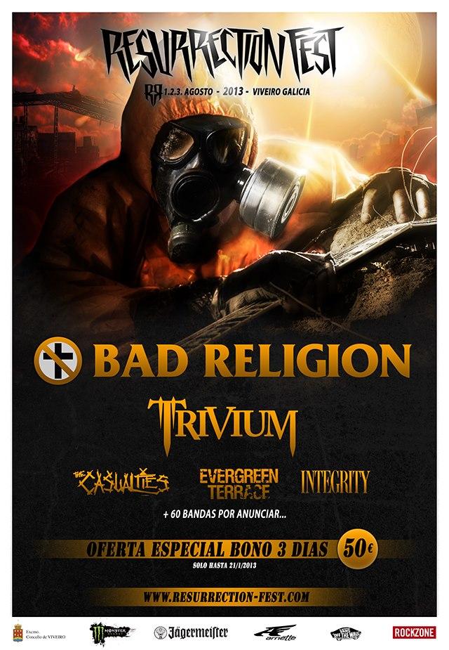 Resurrection Fest 2013, primeras confirmaciones