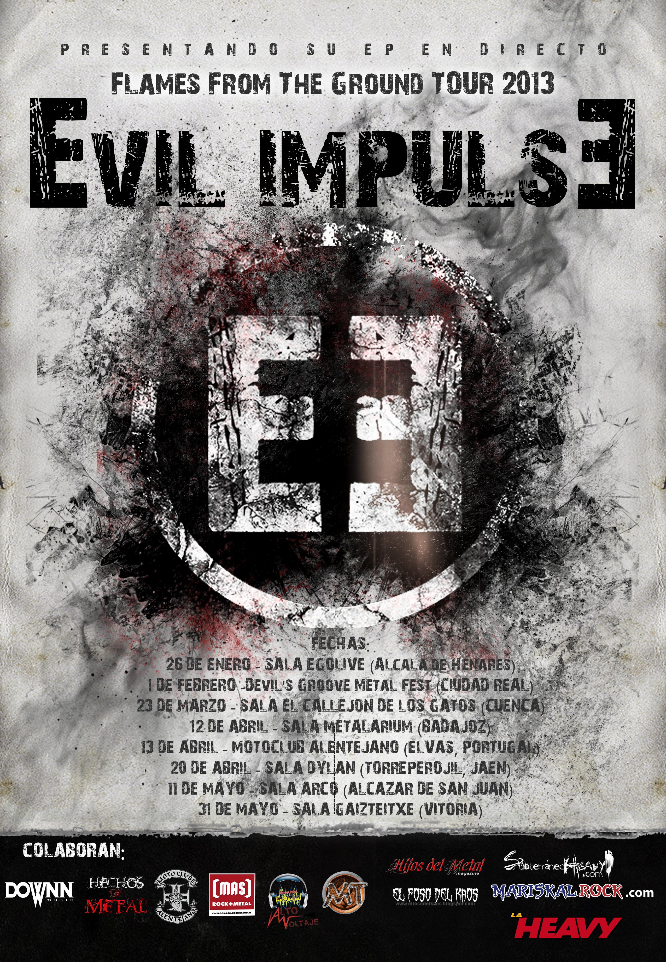 CIVICROCK 2012 – EVIL IMPULSE – MORTUORIAL ECLIPSE