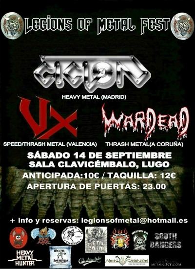 THE DRINKTIM FESTIVAL – ALHANDAL – LEGIONS OF METAL