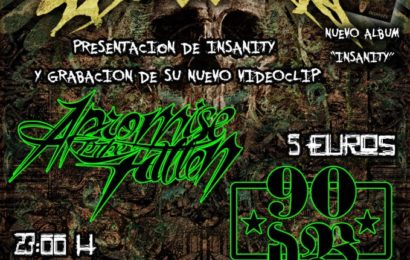 DARK CONFESSIONS + A PROMISE TO THE FALLEN + 90 DB – Murcia – 22/02/13