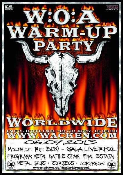 Warm Up Party + Final W:O:A Metal Battle Spain