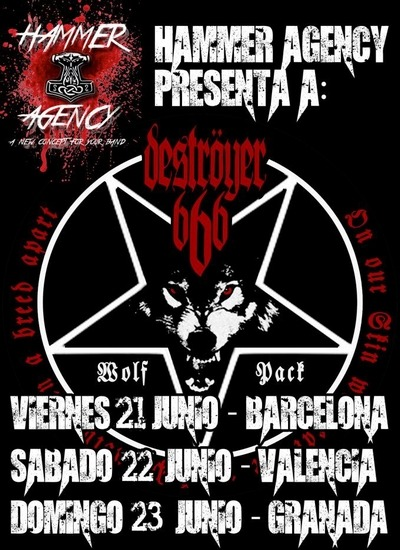 DESTROYER 666 – METAL BATS – XXVI CANDIL ROCK