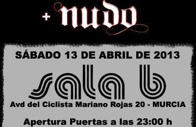 ZENOBIA + NUDO – Murcia, 13/04/13