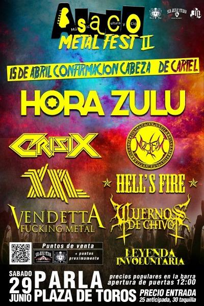 HORA ZULU – Con Fuerza Heavy – CHAOS BEFORE GEA