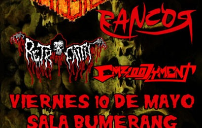 Sounds From The Deep: Cancelada la visita de ZOMBIEFICATION y nuevos conciertos