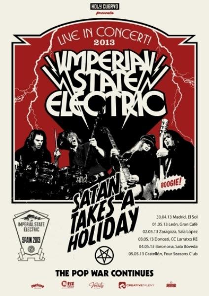 LORELEY – Fan Metal Show – IMPERIAL STATE ELECTRIC