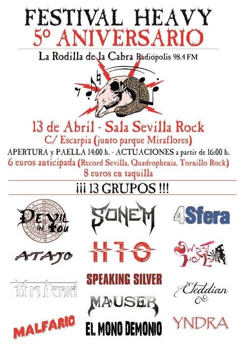 LA RODILLA DE LA CABRA – LIVE FOR MADNESS METAL FEST – INORDEM