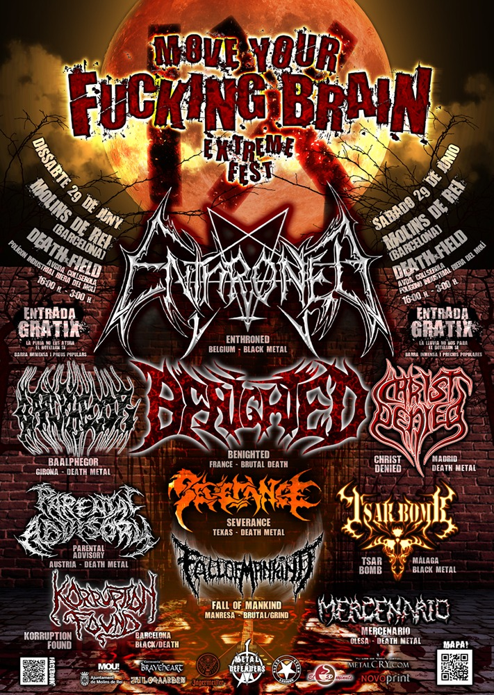 MOVE YOUR FUCKING BRAIN EXTREME FEST – 29 de junio