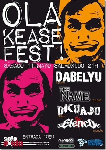ESCARAMUZA – THE MUGGS (USA) – OLA KEASE FEST!
