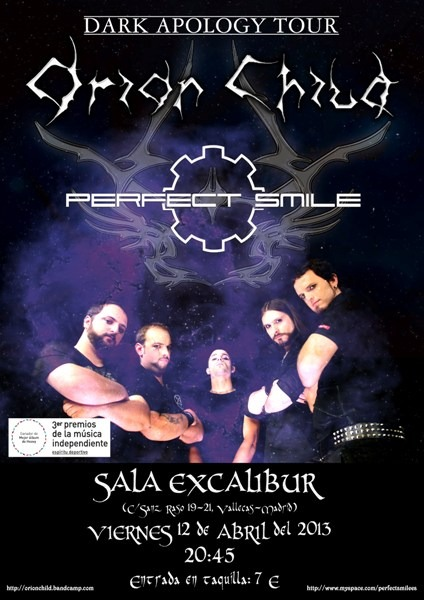 ORION CHILD – ROCK'N'HUELVA Radio –  W:O:A Metal Battle Spain