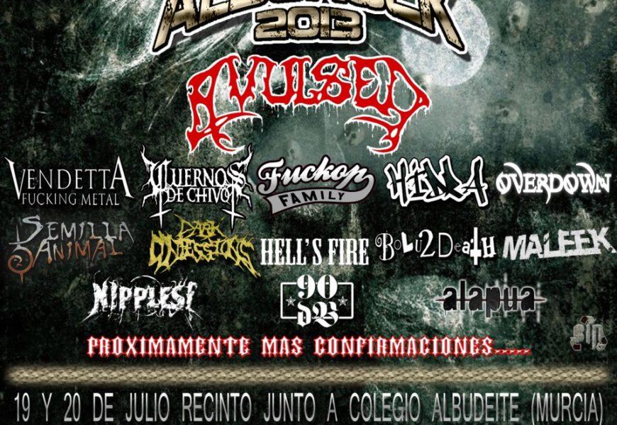 Nuevas bandas para el ALBUROCK 2013