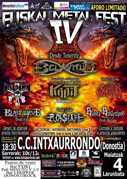 IV EUSKAL METAL Fest