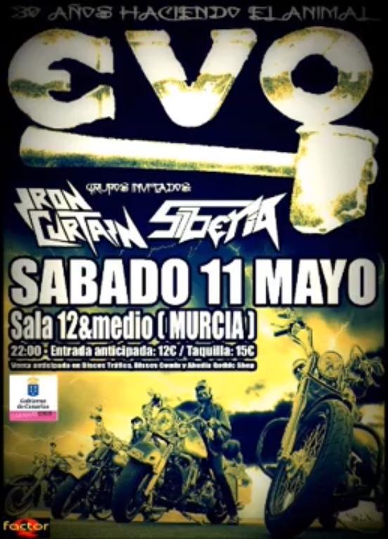 EVO + IRON CURTAIN + SIBERIA – Murcia – 11/05/13