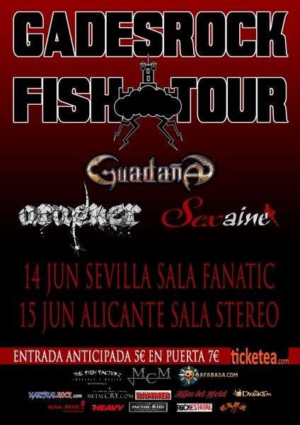 Gades Rock Fish Tour – Próximas fechas