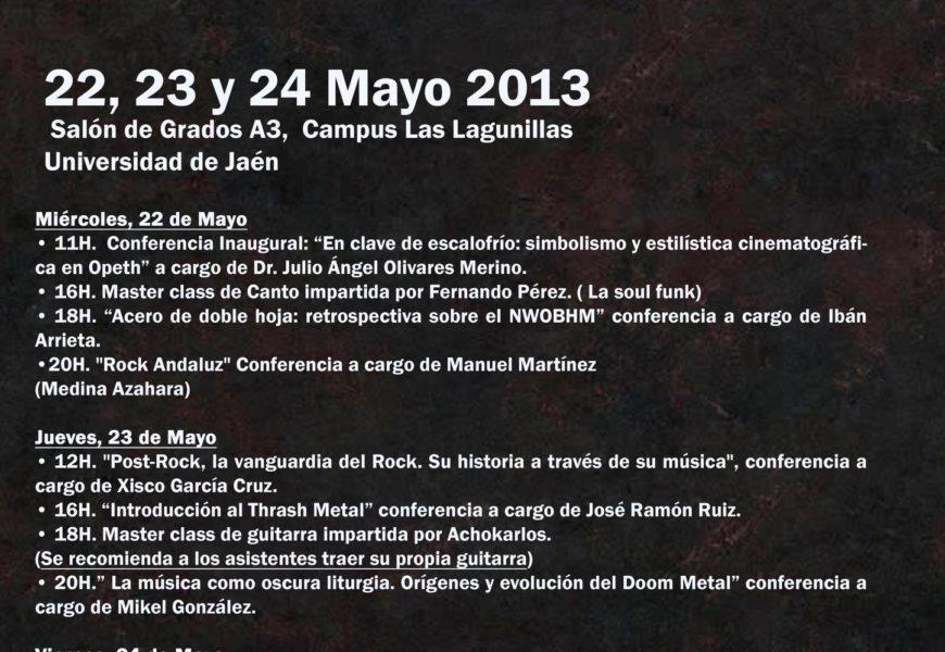 Rock & Metal Encounter (II Jornadas Universidad de Jaén)