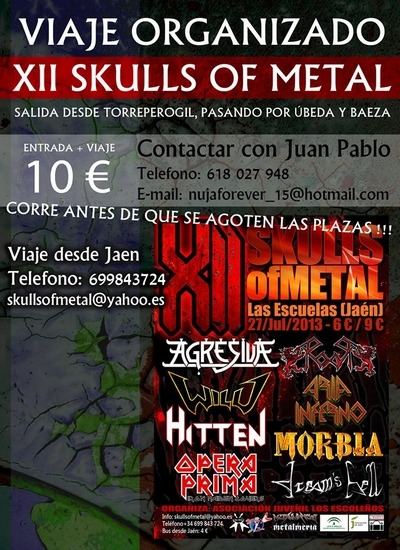 IV ALBERTO ROCK – LAPIDATED – SKULLS OF METAL