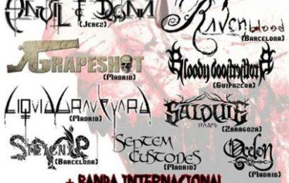 BLOODFEST – 18 y 19 de octubre en Madrid