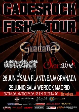 Cancelación del GADES ROCK FISH TOUR en Granada