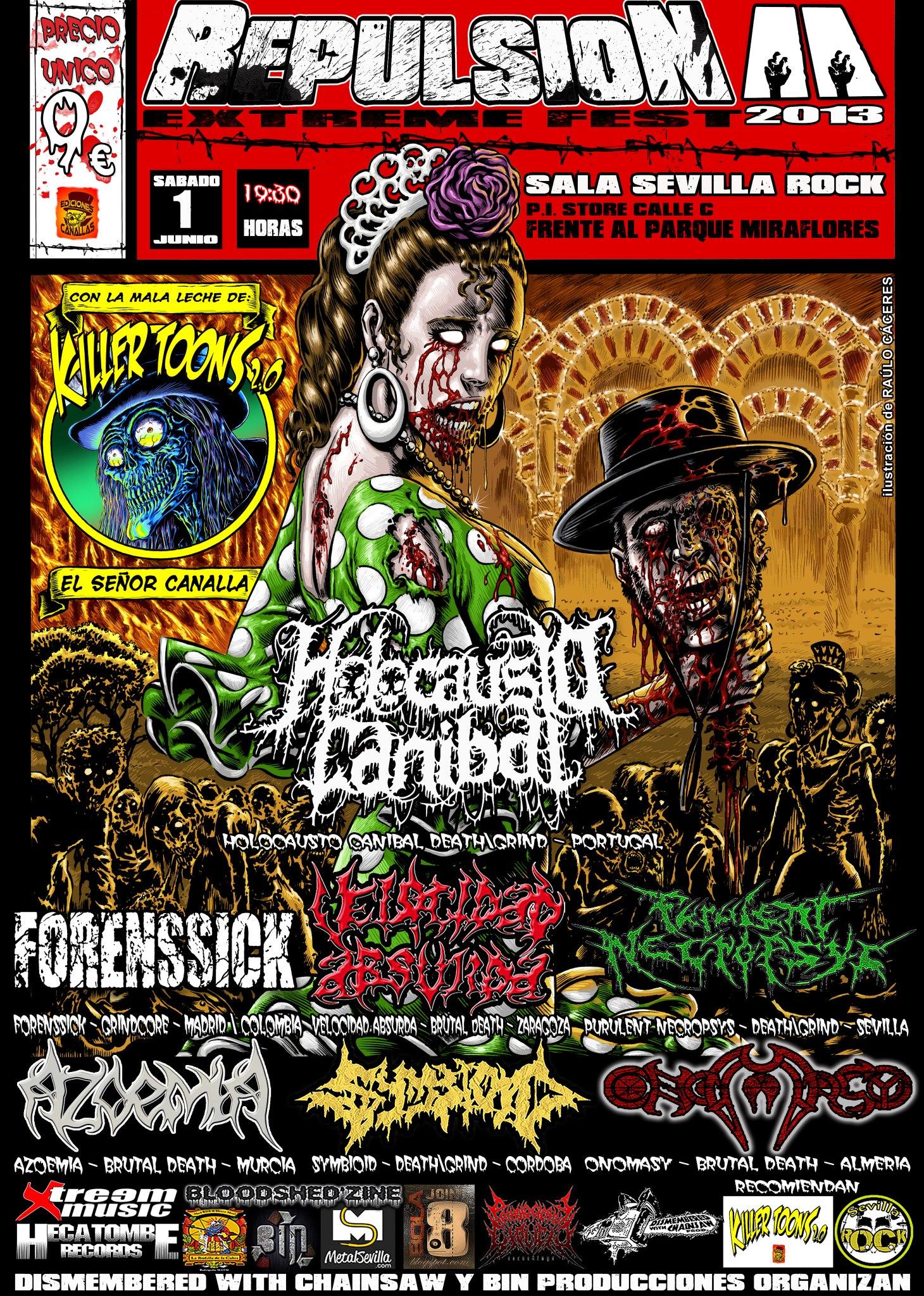 Repulsion Fest II – Sevilla – 01/06/13