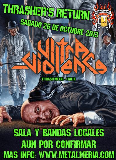 Gira española de los italianos ULTRA VIOLENCE para octubre