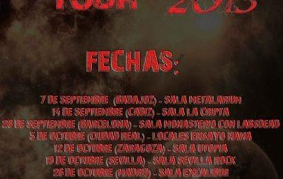Fechas para el BRUTAL SOUTH TOUR 2013