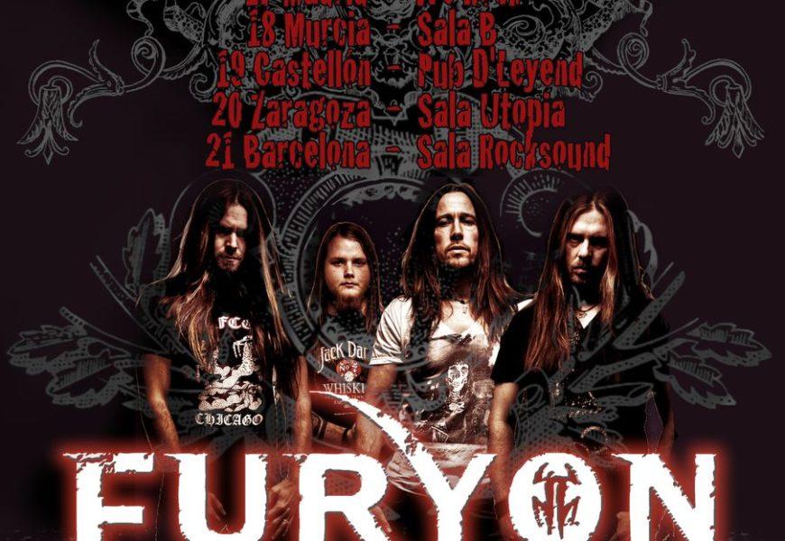 FURYON (UK) de gira por España