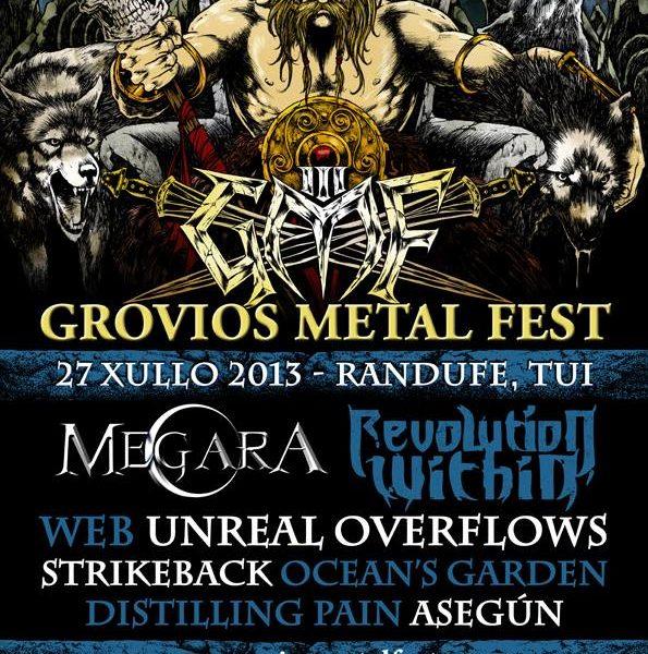 El III Grovios Metal Fest se celebrará el 27 de julio en Tui