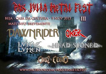 PAX JULIA METAL FEST III –  ROCK'ANTENA ROLL –  FREEDOM XLAVE