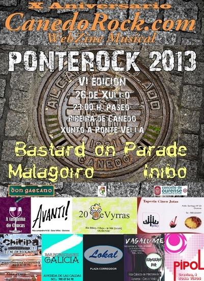 VI PONTE ROCK, A Ponte, 26 de julio