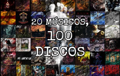 20 músicos, 100 discos