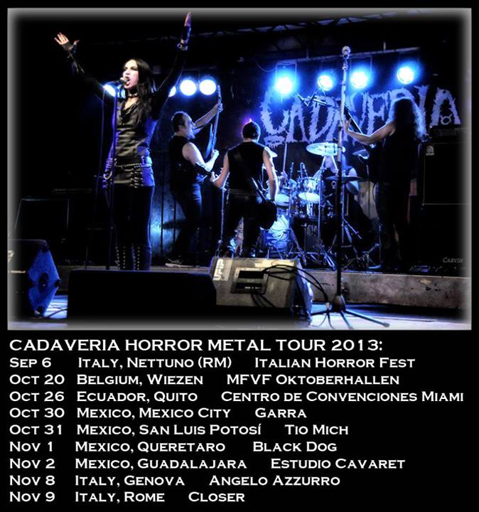 CADAVERIA (ITA) – DAY OF DOOM Fest – STANDING OVATION (FIN)