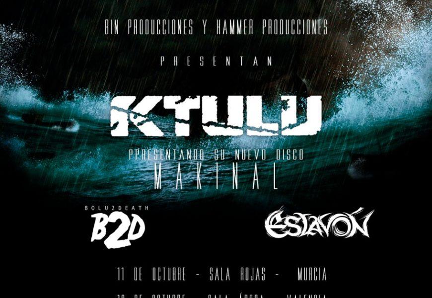 KTULU tienen dos fechas para octubre
