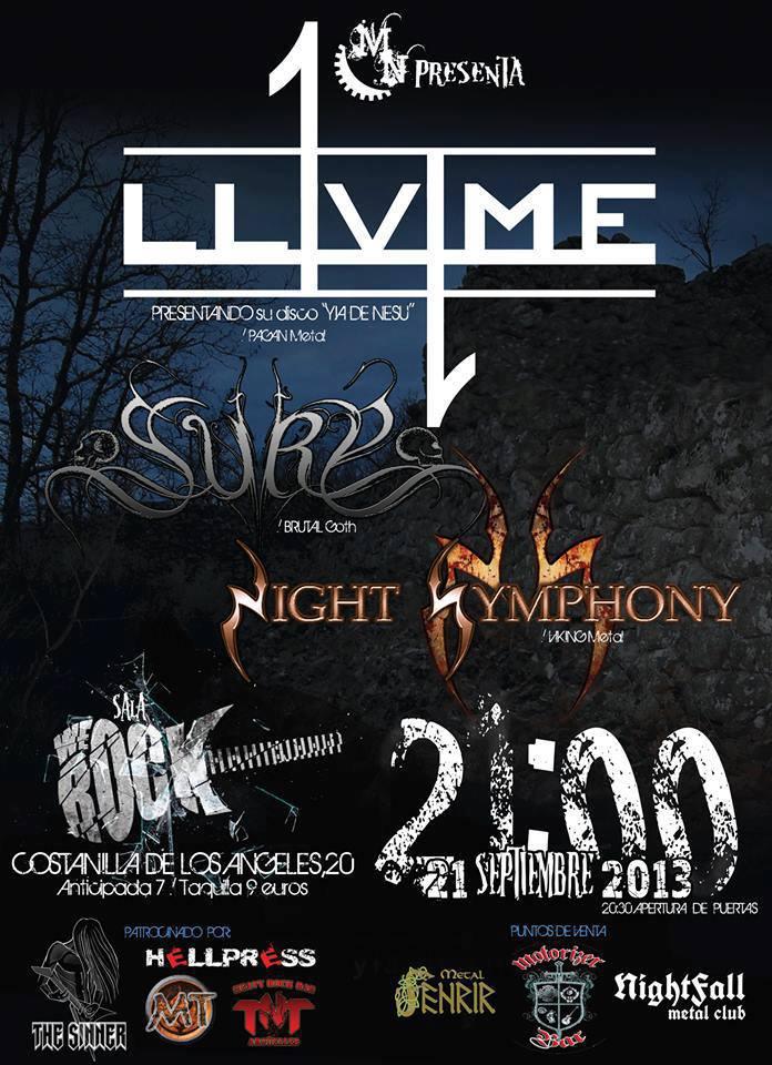 Concierto de LLVME en Madrid