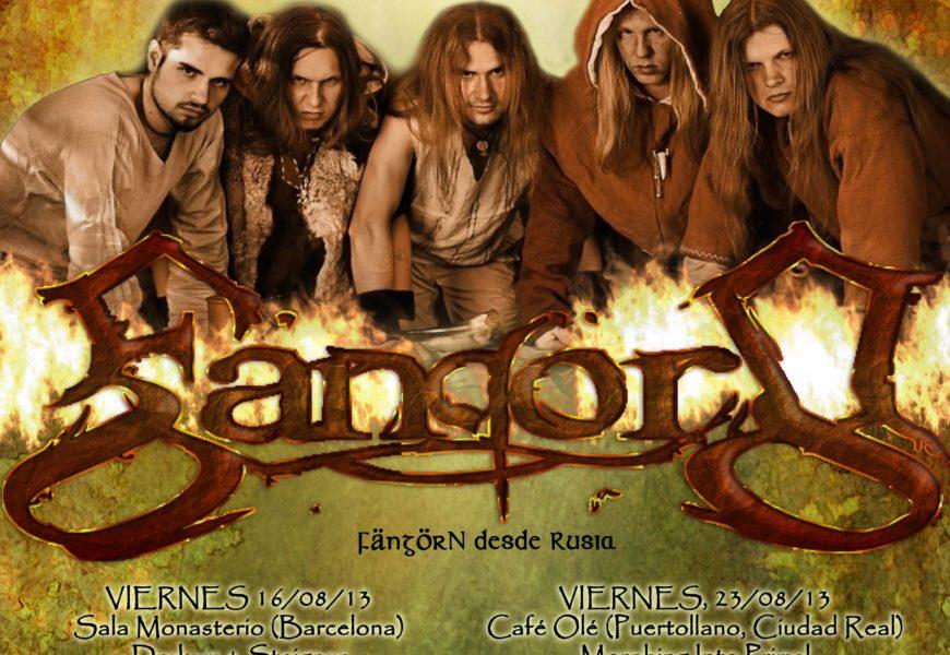 FÄNGÖRN (RUS) – Folk Metal Spanish Tour