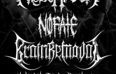 MESZAROTH, NO FATE, BRAIN REMOVAL y MERCENARIO en Madrid