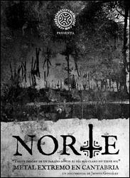 NORTE, documental Metal Extremo en Cantabria, 2013