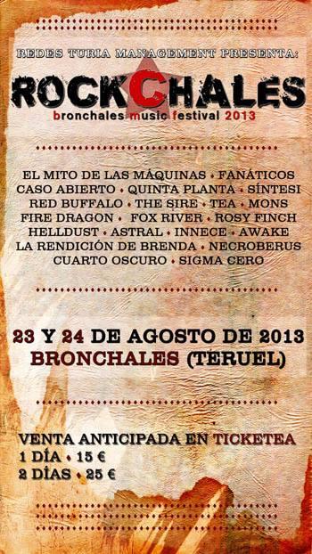 Todos los detalles del ROCKCHALES 2013