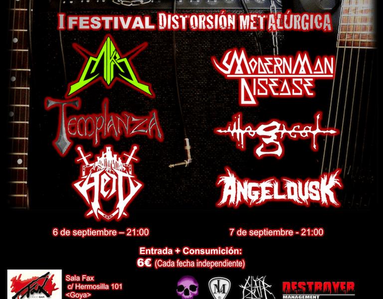 ILLOGICAL + ANGEL DUSK + MODERN MAN DISEASE – Madrid – 07/09/13