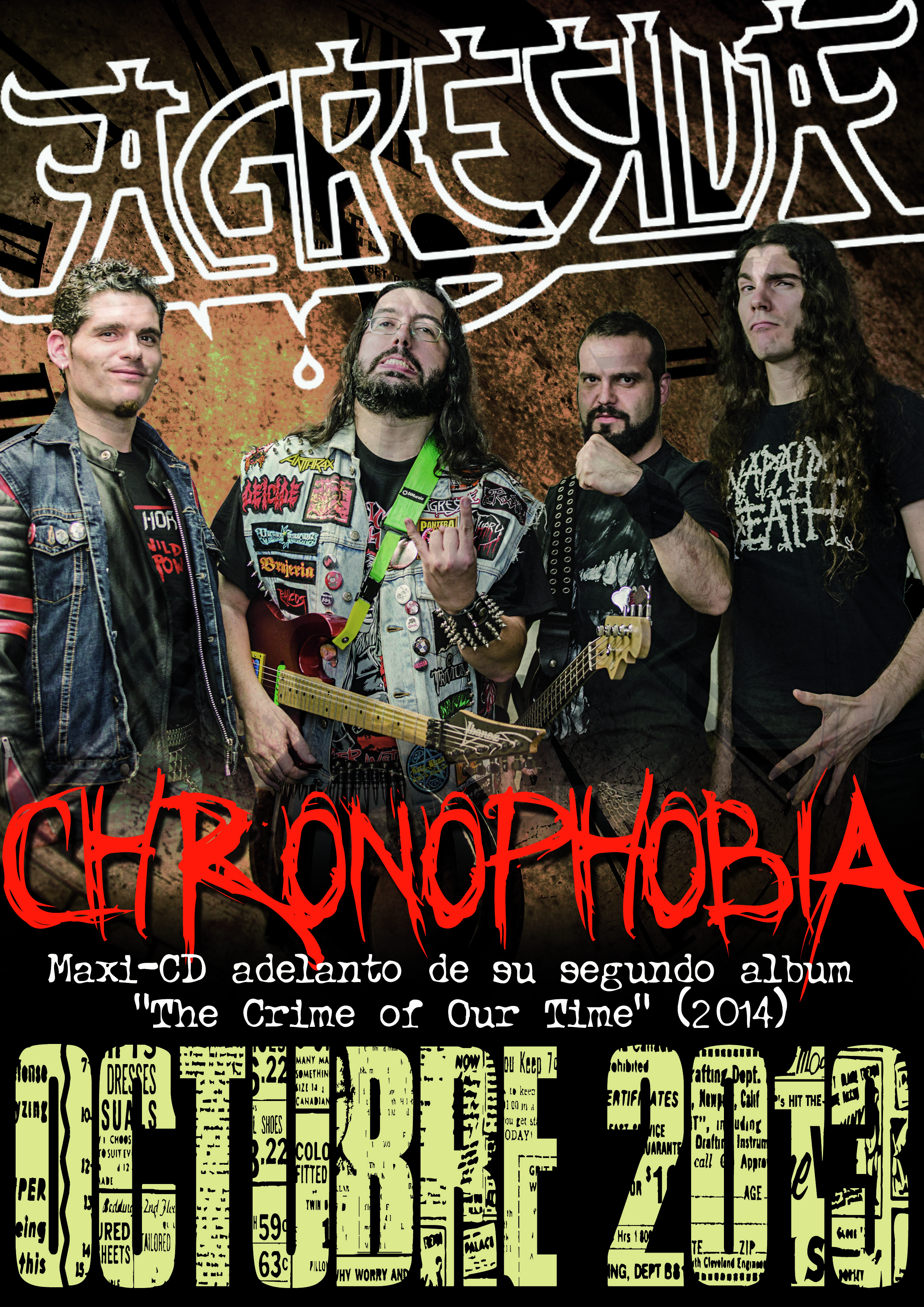 AGRESIVA – DVD «SICK MOSH» (CHL) – BARBARIAN PROPHECIES