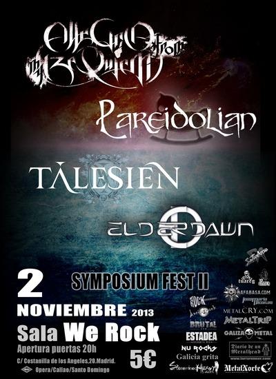 Concurso SYMPOSIUM FEST II en Facebook