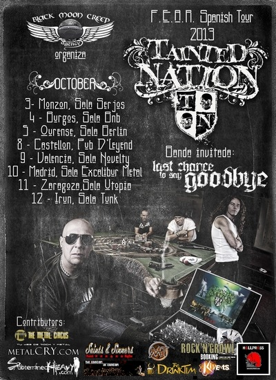 TAINTED NATION (UK) – NUBES Y CLAROS – SAD EYES