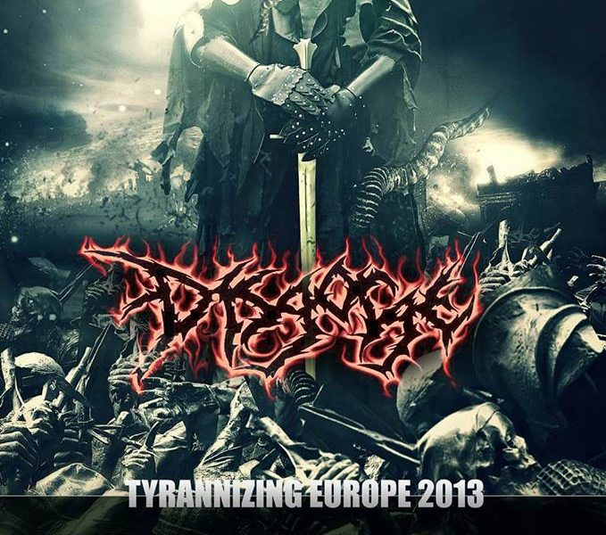 DISGORGE + EXTIRPATING THE INFECTED – Sevilla – 18/11/2013