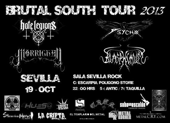 BRUTAL SOUTH TOUR 2013 – Sevilla – 19/10/2013