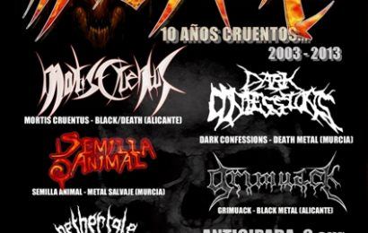 MORTIS CRUENTUS – BRUTAL SOUTH TOUR – UPCOMING OF DESVASTATION