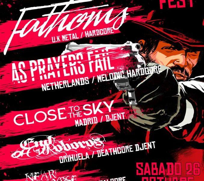 REDEMPTION FEST el sábado 26 de octubre en Murcia