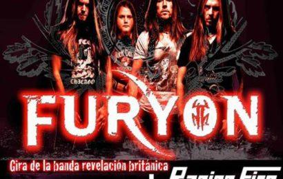 FURYON + RAGING FIRE – Murcia – 18/09/13