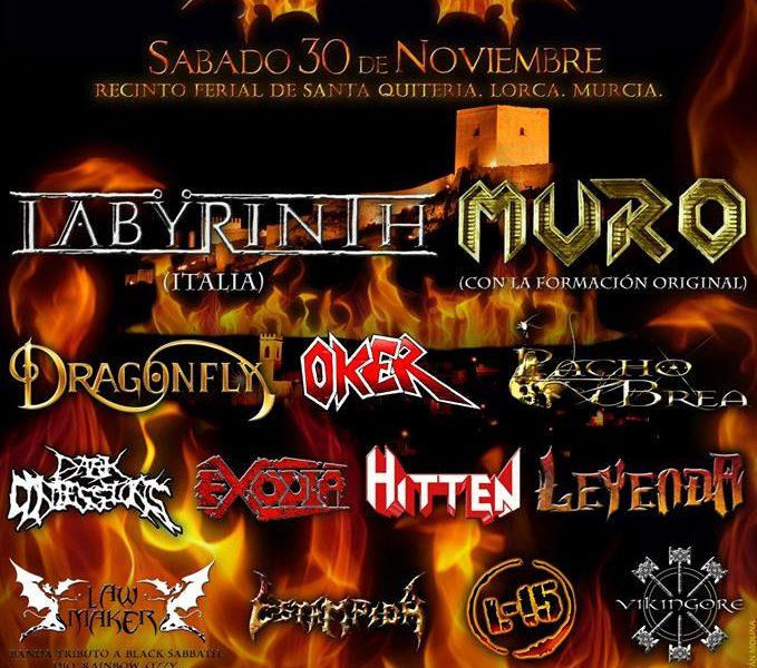 IV METAL LORCA – Lorca (Murcia) – 30/11/13