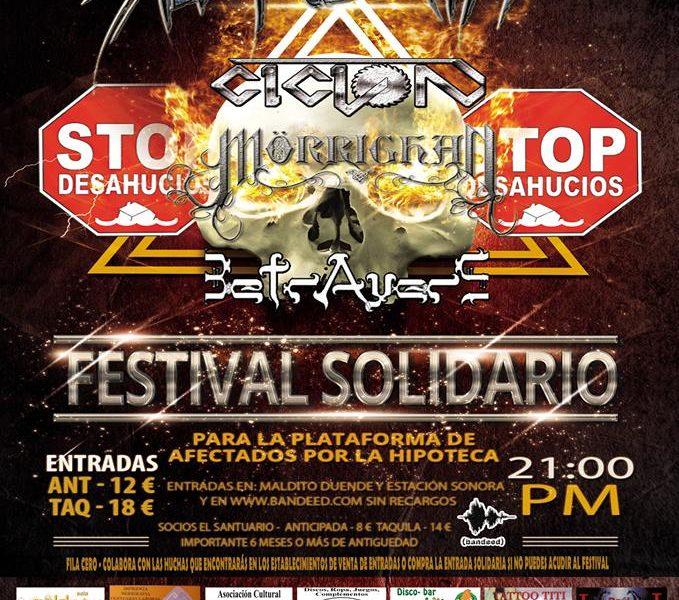 CONCIERTO SOLIDARIO PAH – INNER BLOOD – FEMALE EXTREME DAME-NATION METAL FEST