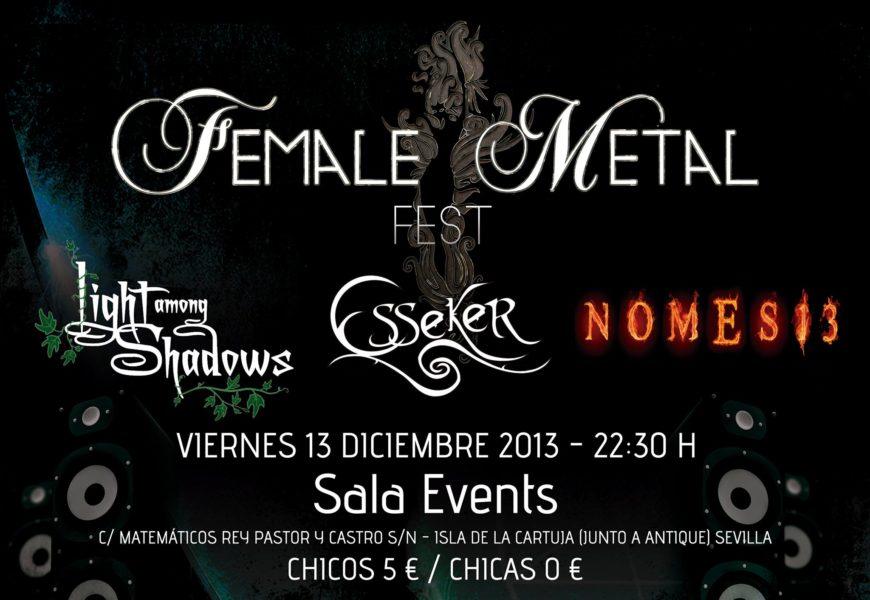 Female Metal Fest – Sevilla – 13/12/13