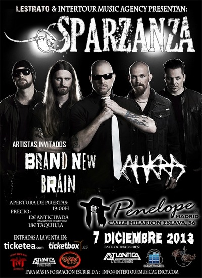 BRAND NEW BRAIN – RAVEN´S GATE – DIVINO DISTURBO